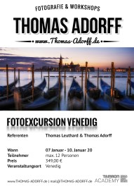 Fotoexcursion - Venedig