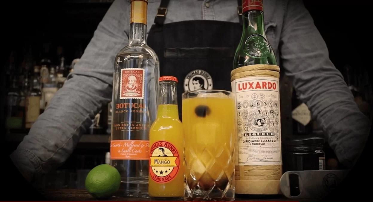 Friday Highball No. 16- Drunken Mango