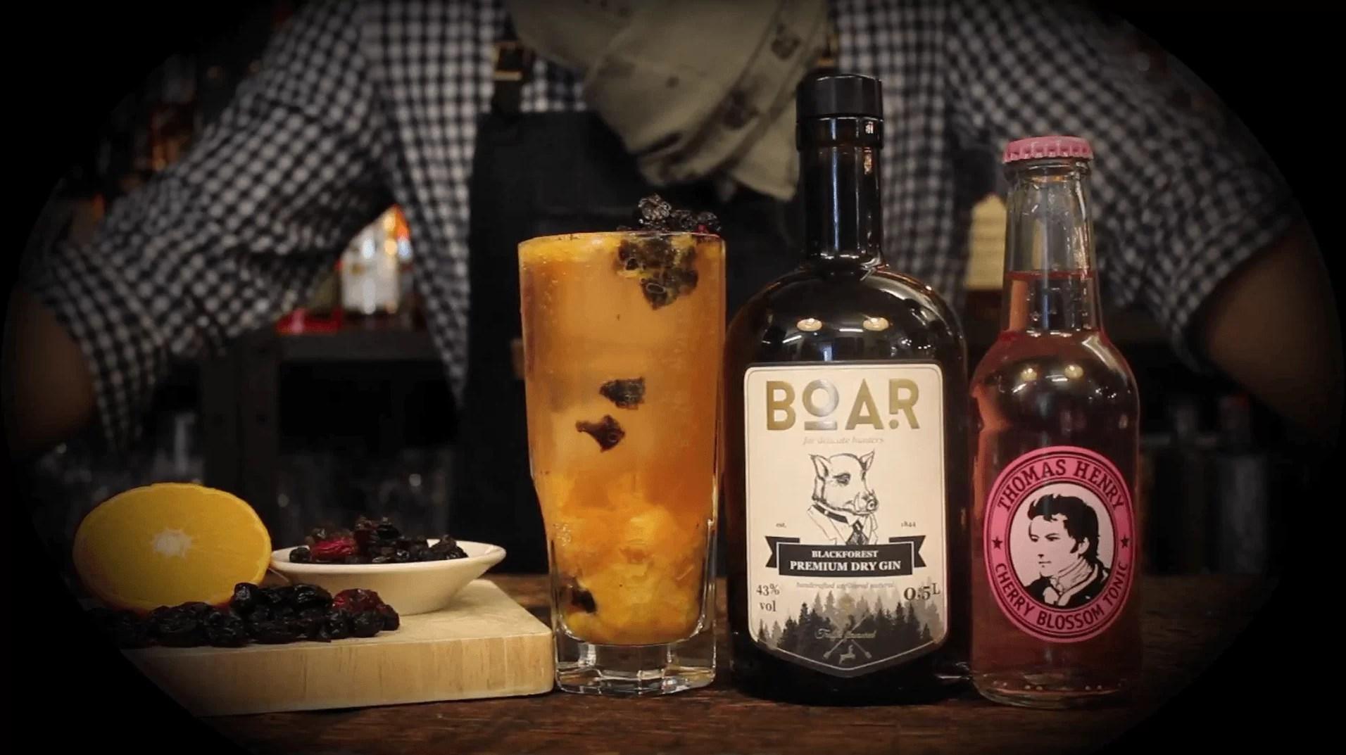 #FridayHighball No. 30 - Wild Cherry Boar