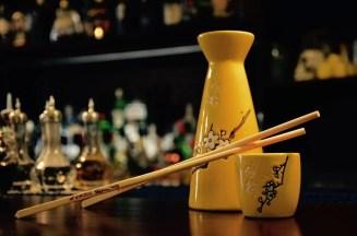 Trinkgefäß in der Charles Bar in Wittenberg