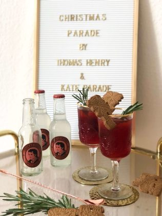 Der Drink Christmas Parade mit Thomas Henry Spicy Ginger
