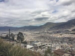 letzter Blick zurück auf Quito