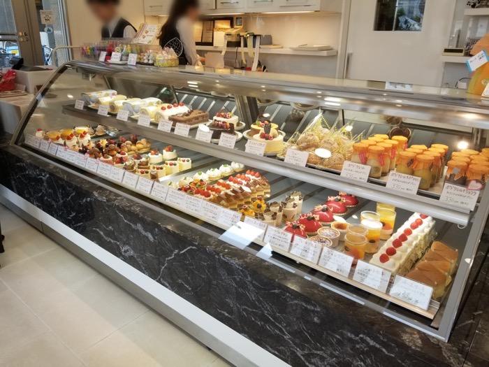 ラフィーユ一之江店のケーキメニュー