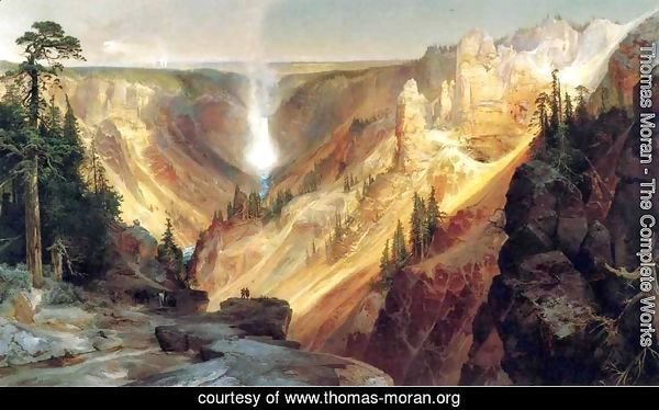 Thomas Moran The Complete Works Grand Canyon Of The