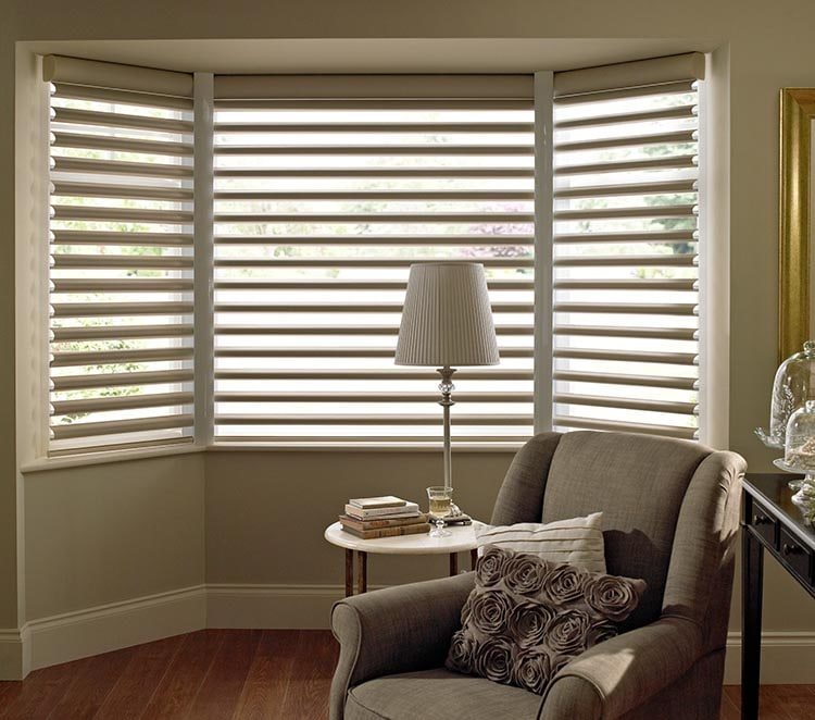 Bay Window Blinds  Made to Measure with Thomas Sanderson