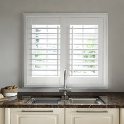 Kitchen Shutters Cabinet Storage Ideas Made To Measure With Thomas Sanderson Moisture Resistant Above Sink