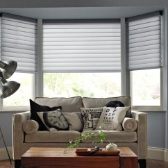 Blinds For Living Room Pop Designs Pictures Made To Measure With Thomas Sanderson Close Up Of White Closed
