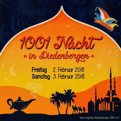 1001 Nacht Samstagssitzung