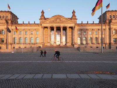 der Reichstag von vorne
