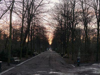 der Park zwischen Reichstag und Brandenburger Tor