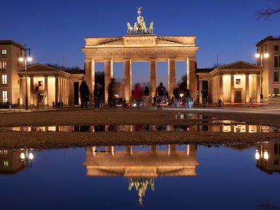 das Brandenburger Tor in seiner ganzen Schönheit