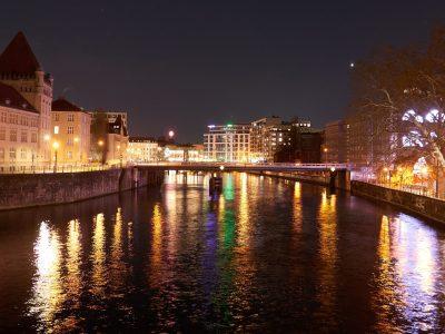 Eine Stadt am Wasser ist einfach schön