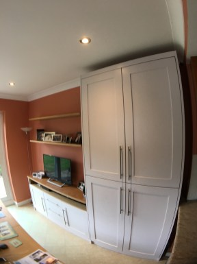 Bespoke storage double cupboard
