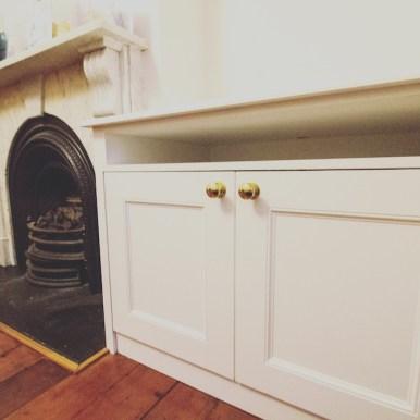 Alcove lower cupboard