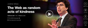 Jonathan Zittrain and Random Acts of Kindness