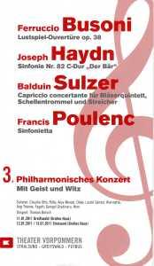 3 Philharmonisches Konzert 2011