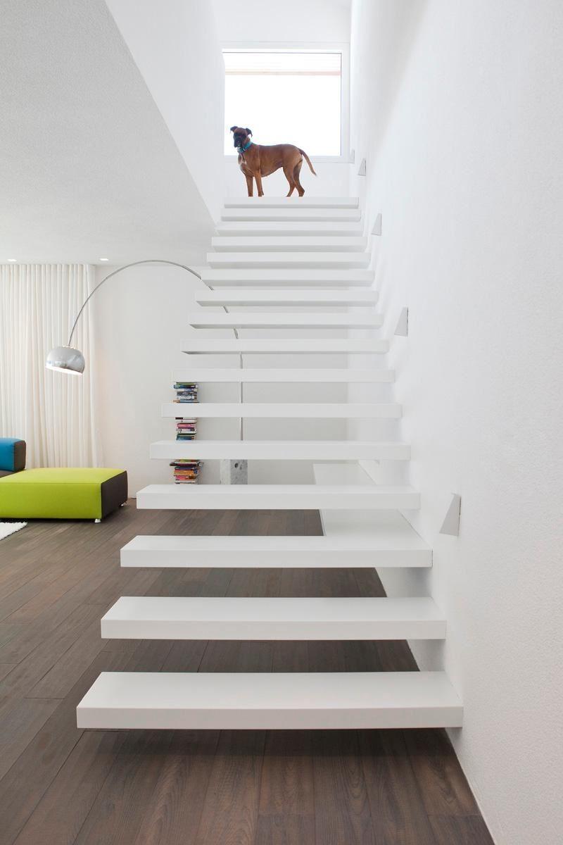 Auskragende Treppen