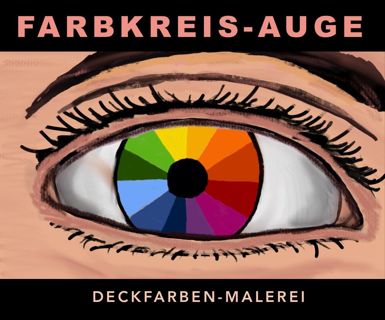 Farbkreis Auge