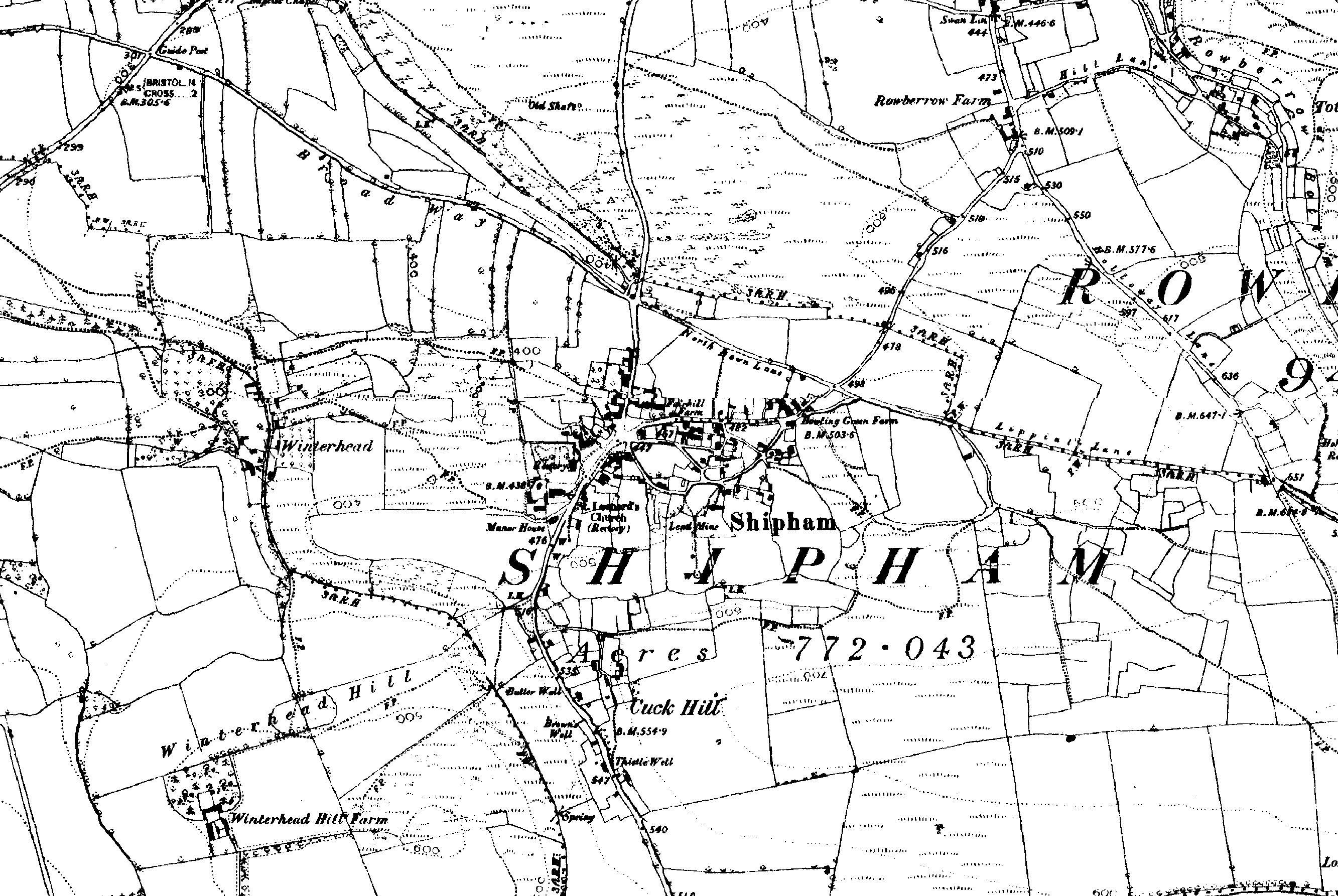 The Hares Family of Shipham, Somerset, England