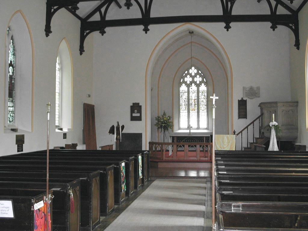 St Leonards Church Shipham Somerset England