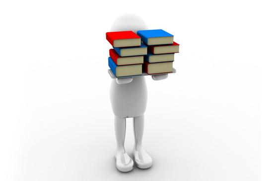 avitar holding book