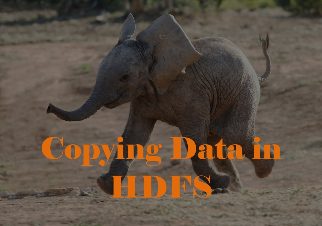 Copying Data in HDFS