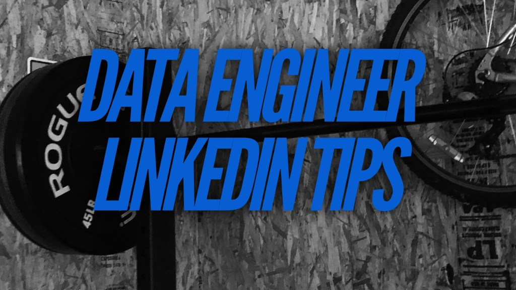 Data Engineer LinkedIN Profile