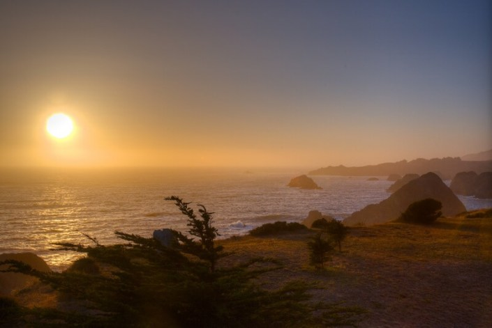 Mendocino beach house for sale Thomas Henthorne