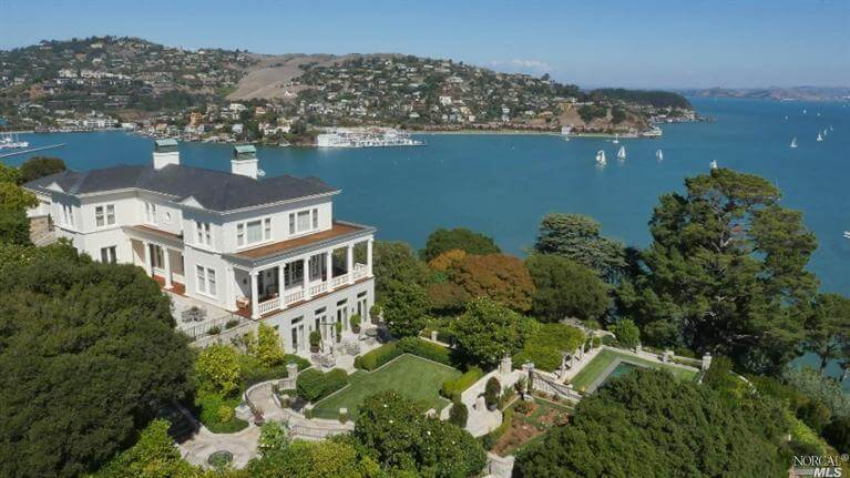 440 Golden Gate Avenue Belvedere most expensive homes sold in marin county