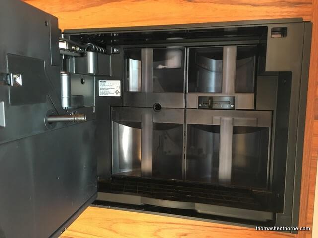 marin luxury kitchens miele coffee maker