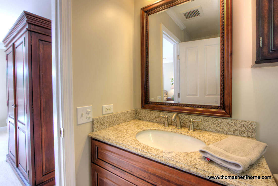 Photo of Sink and Mirror