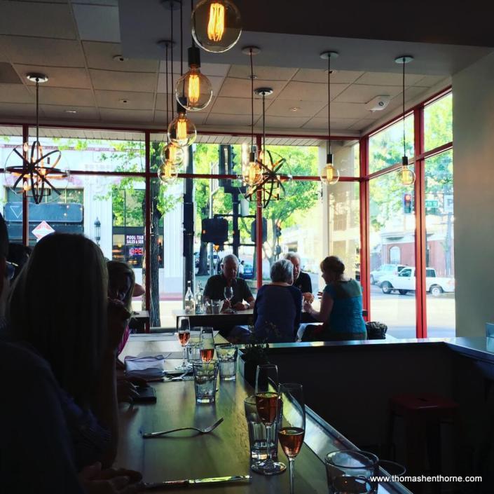 daytime bar scene photo