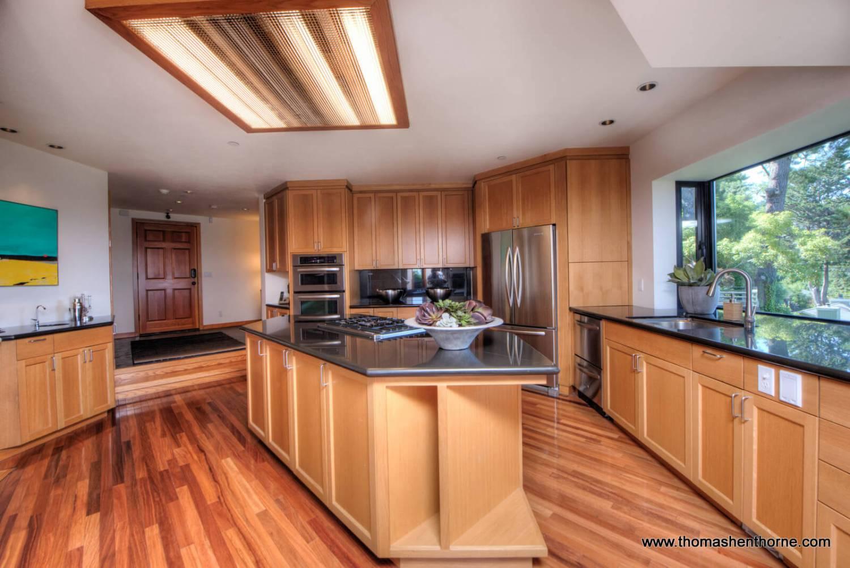 Daytime kitchen view 2