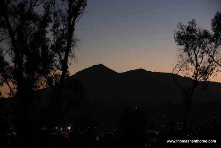 View of Mt. Tamalpais at Dusk