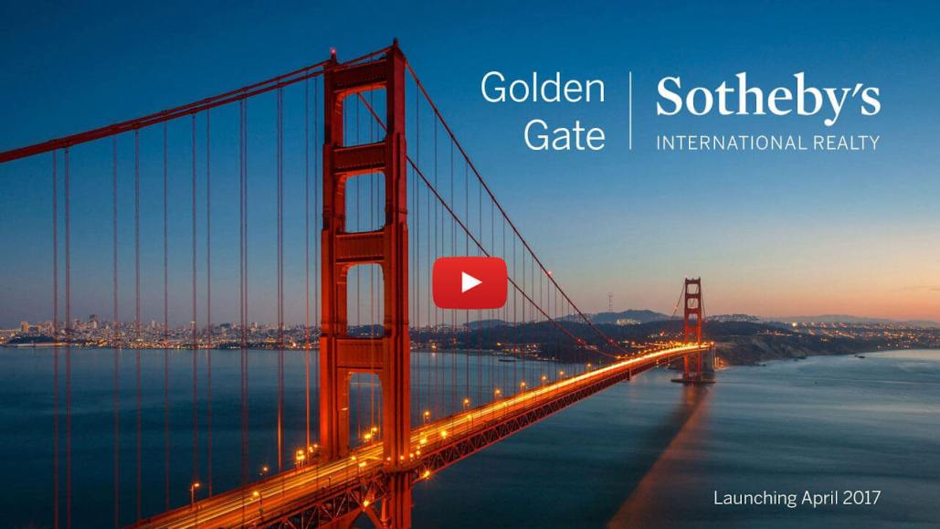 Golden Gate Sotheby's with Play Button