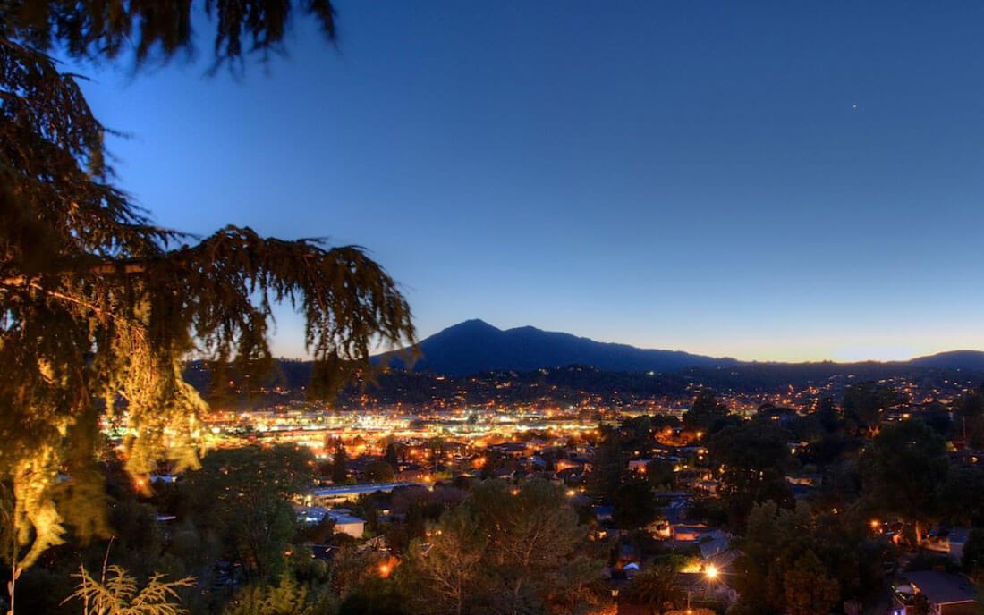 Mt. Tamalpais from 60 Deer Park in San Rafael