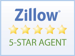 Zillow 5 Star Agent Badge