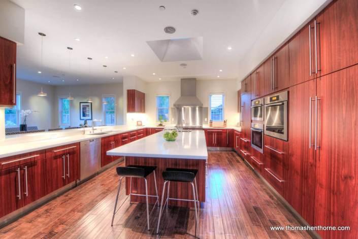 Kitchen at 493 Washington Court in Tiburon