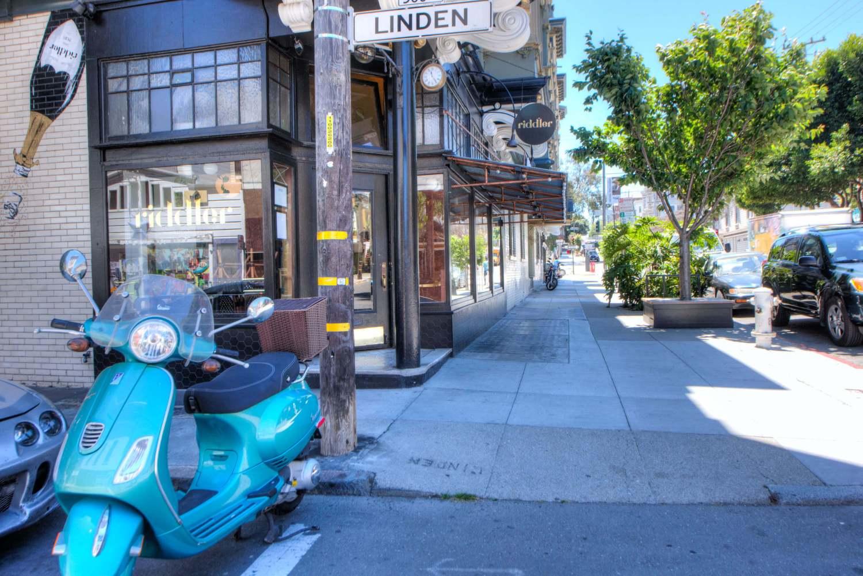 Hayes Valley Street Scene