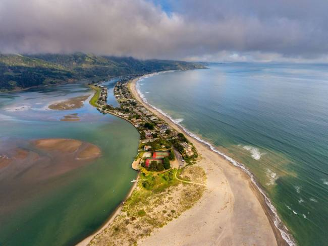 Stinson Beach Aerial View