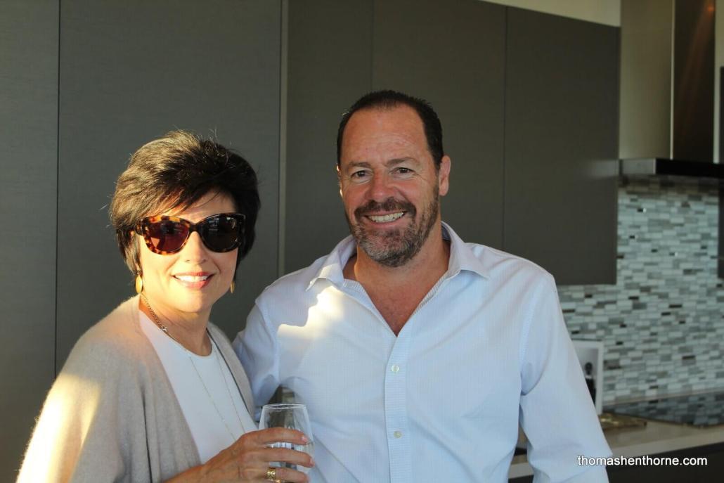 Joan Dauria and Chip Rutan