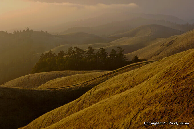 Mount Tamalpais West Ridge Sunset
