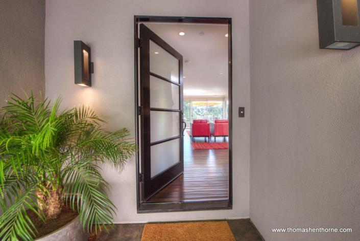 Front door to 65 Corte Amado