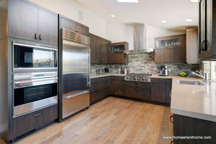 Modern Kitchen with Stainless Appliances
