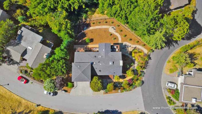 Aerial view of 4 Tilden Circle