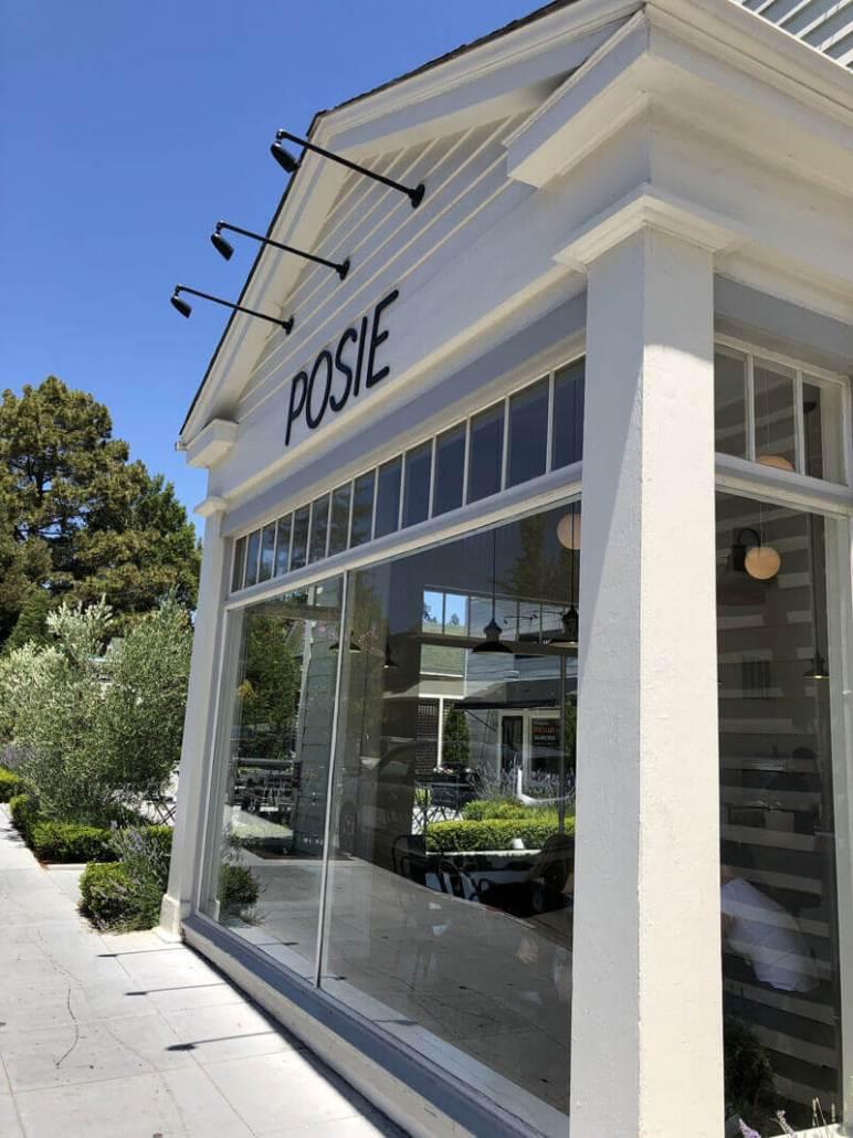 Posie Ice Cream Front of Shop