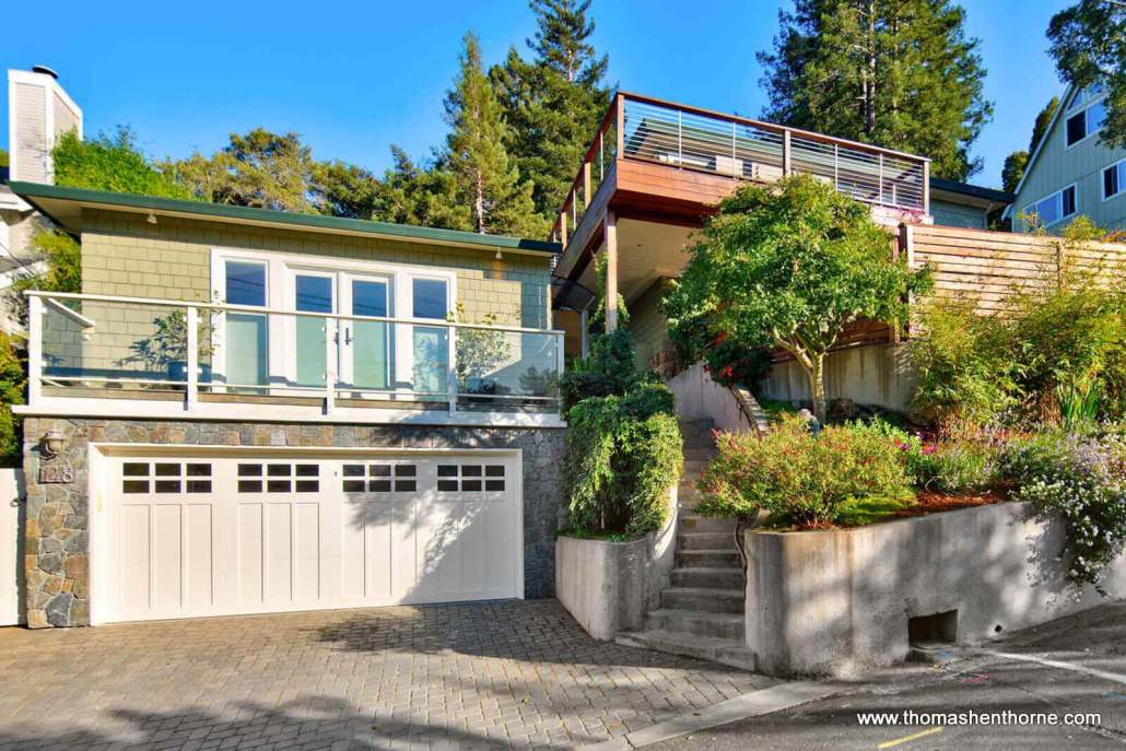 Front of 148 Crescent Road in Corte Madera