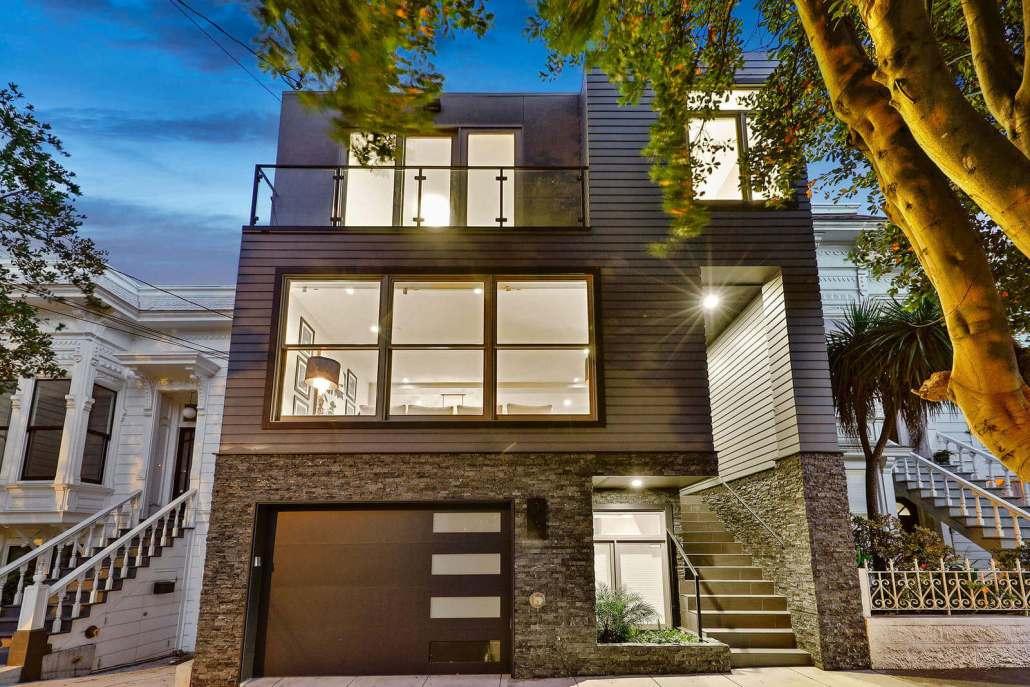 Modern Home in San Francisco's Noe Valley