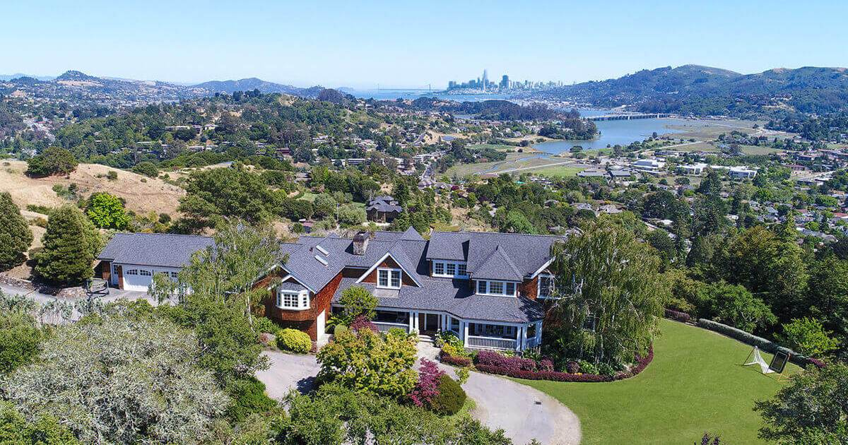 33 Escalon Drive Mill Valley Third Most Expensive Home Sold in 2018