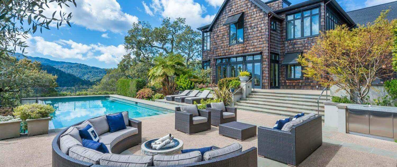69 Laurel Grove Avenue in Ross view of pool